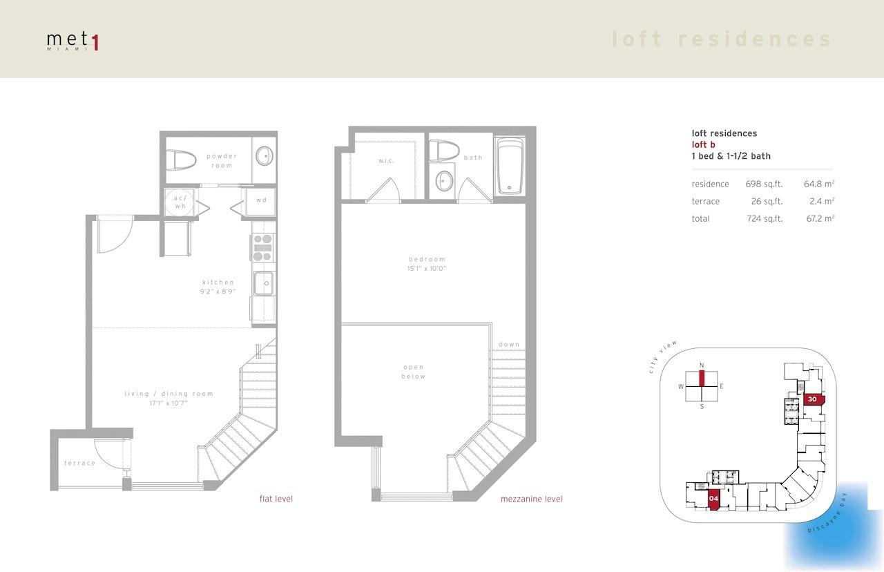 Met 1 - Floorplan 10