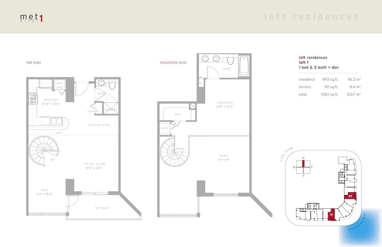 Met 1 - Floorplan 13