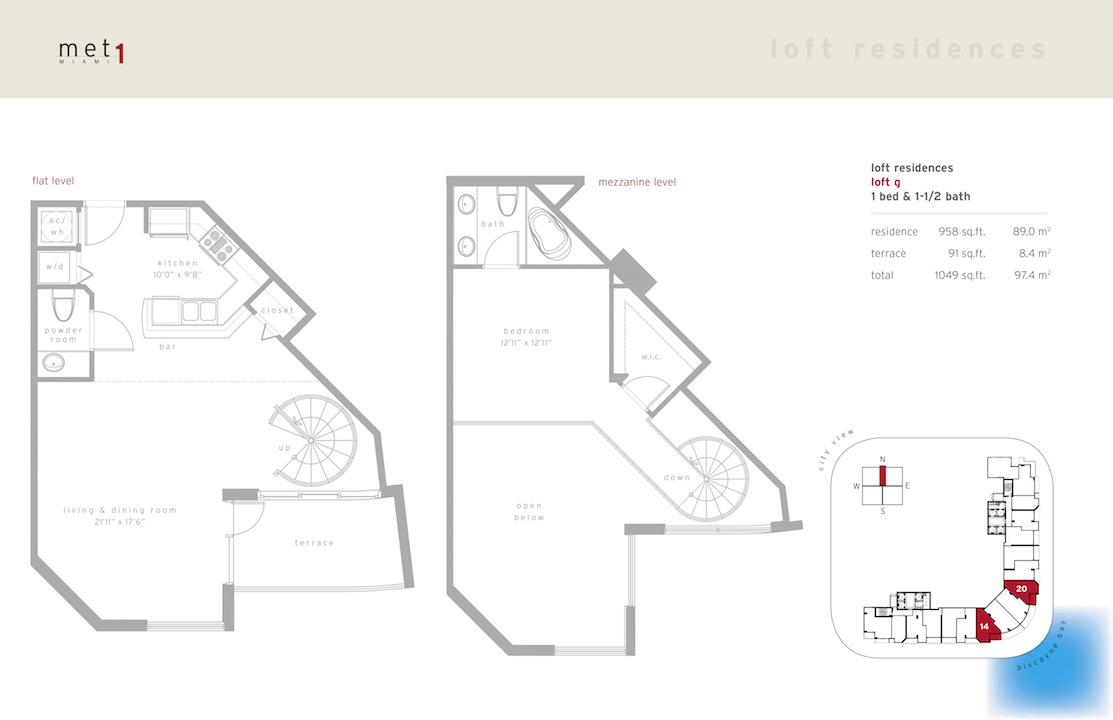 Met 1 - Floorplan 14