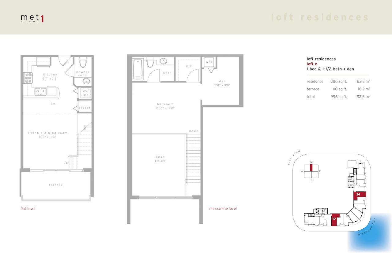 Met 1 - Floorplan 15