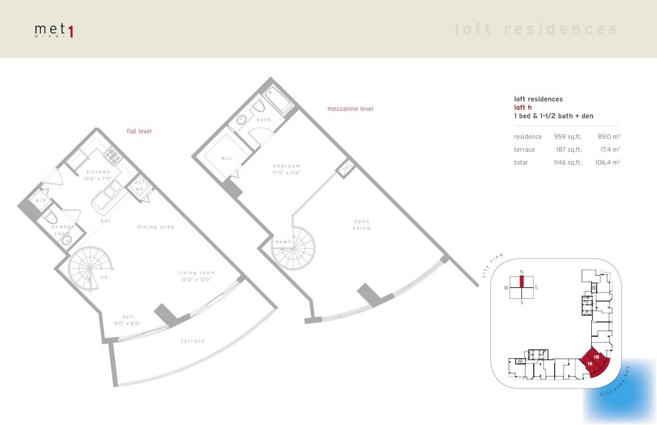 Met 1 - Floorplan 18