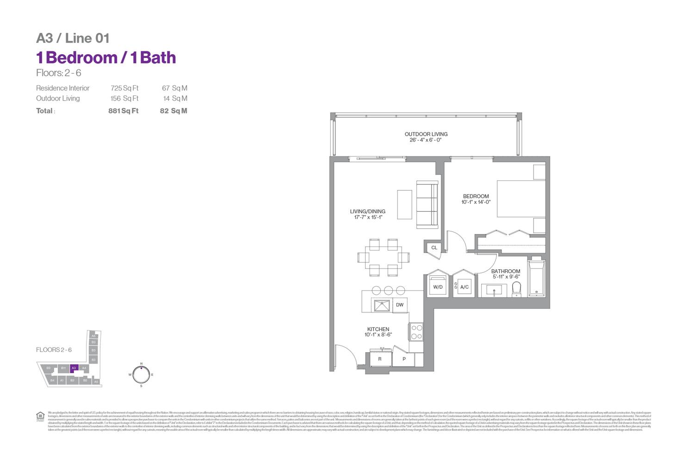 Metropica - Floorplan 16