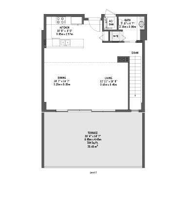 Midtown 2 - Floorplan 1