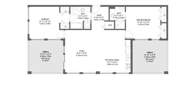 Midtown 2 - Floorplan 4