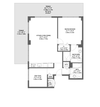 Midtown 2 - Floorplan 9
