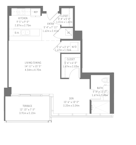 Midtown 4 - Floorplan 1