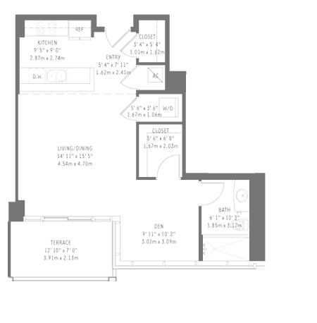 Midtown 4 - Floorplan 2