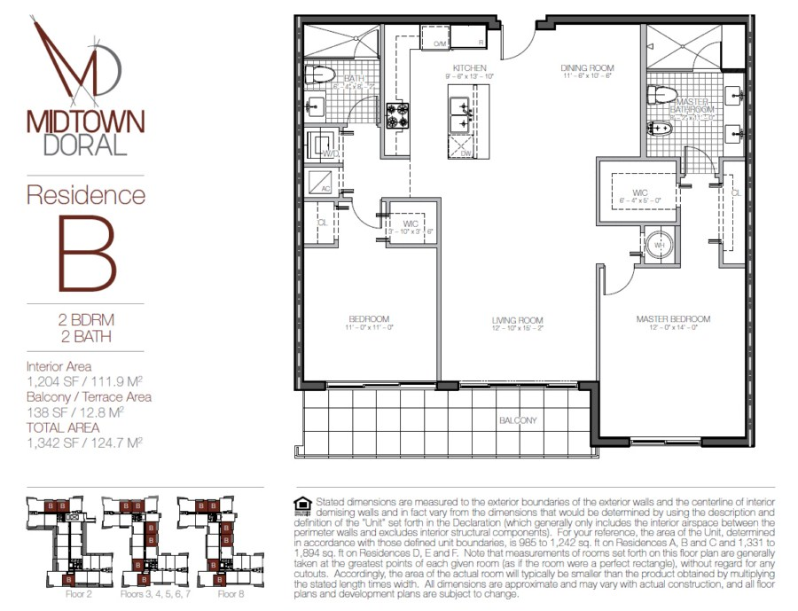 Midtown Doral - Floorplan 2