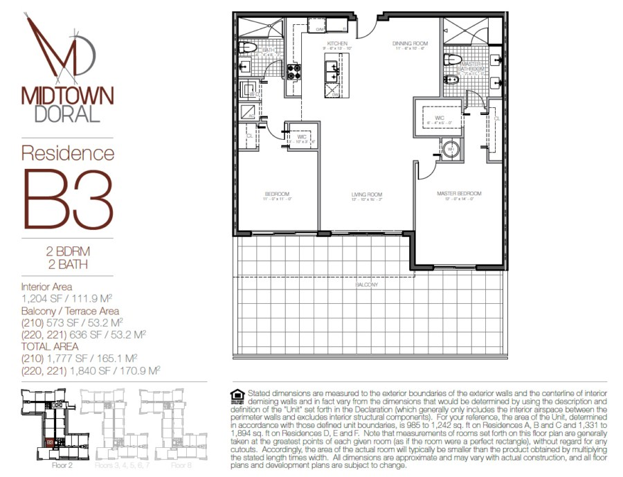 Midtown Doral - Floorplan 3