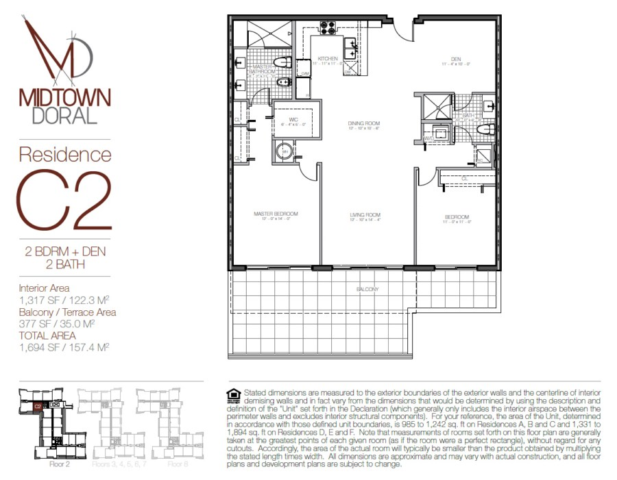 Midtown Doral - Floorplan 5