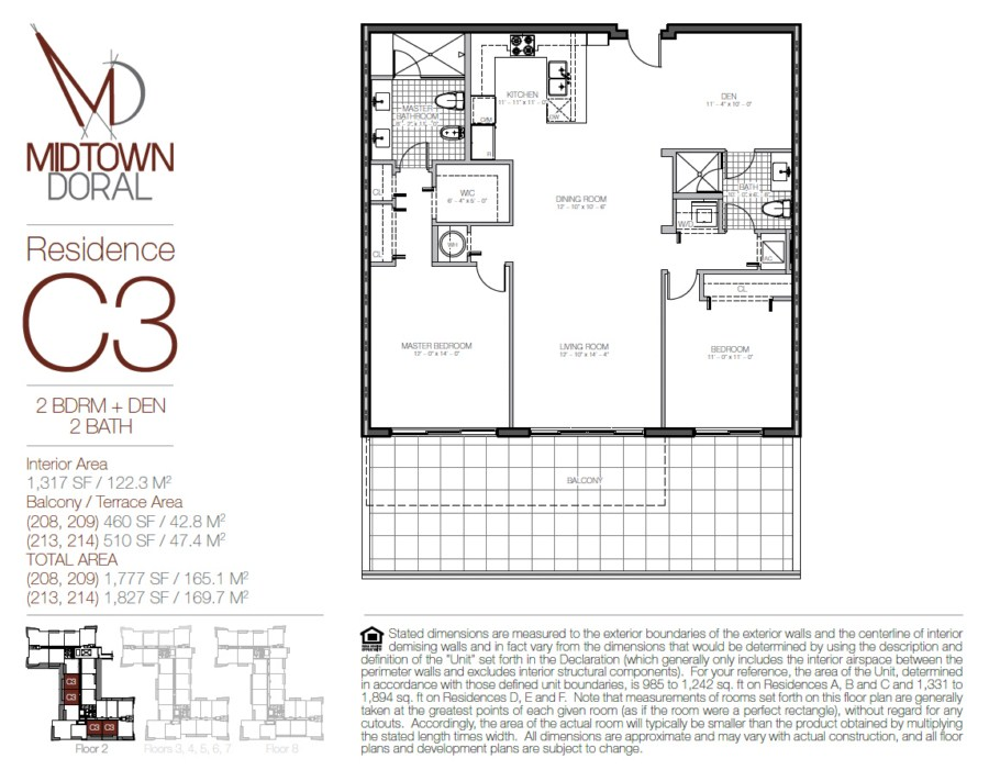 Midtown Doral - Floorplan 6