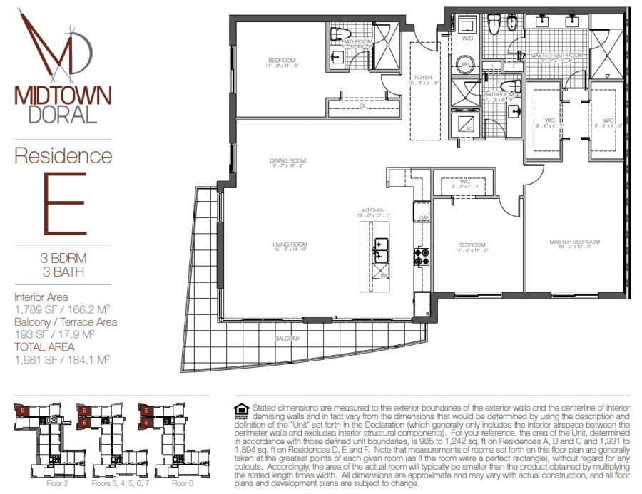 Midtown Doral - Floorplan 7