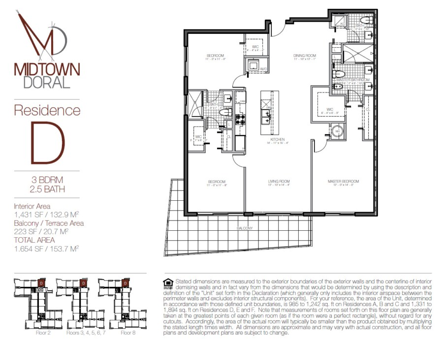 Midtown Doral - Floorplan 8