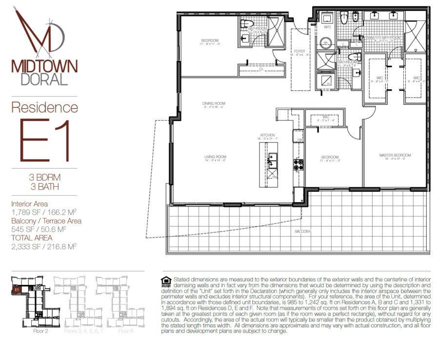 Midtown Doral - Floorplan 9