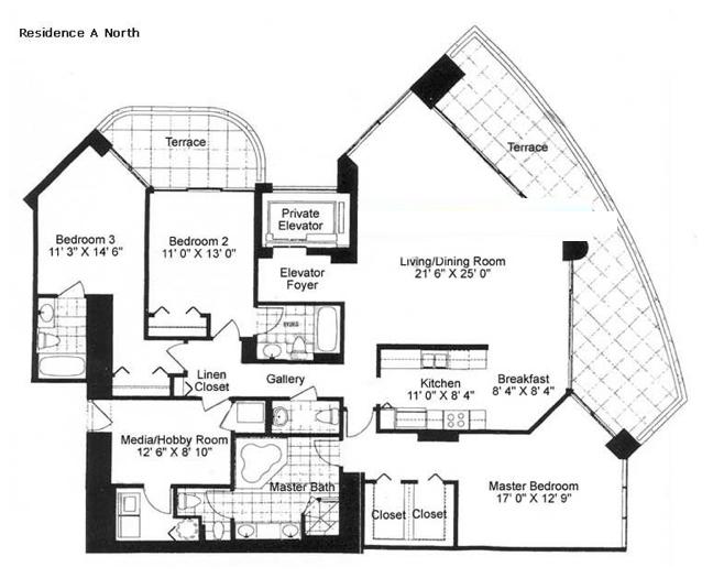 Millennium - Floorplan 1