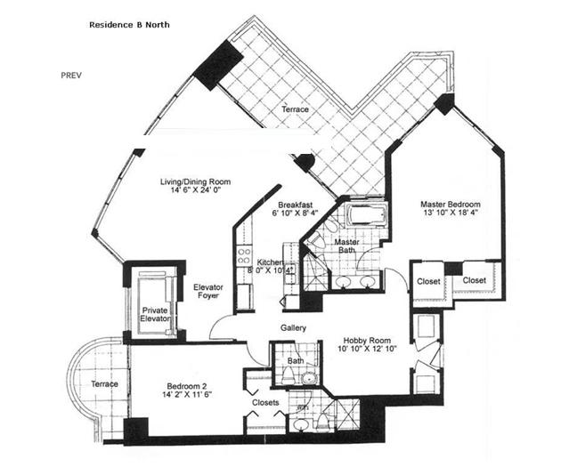 Millennium - Floorplan 2