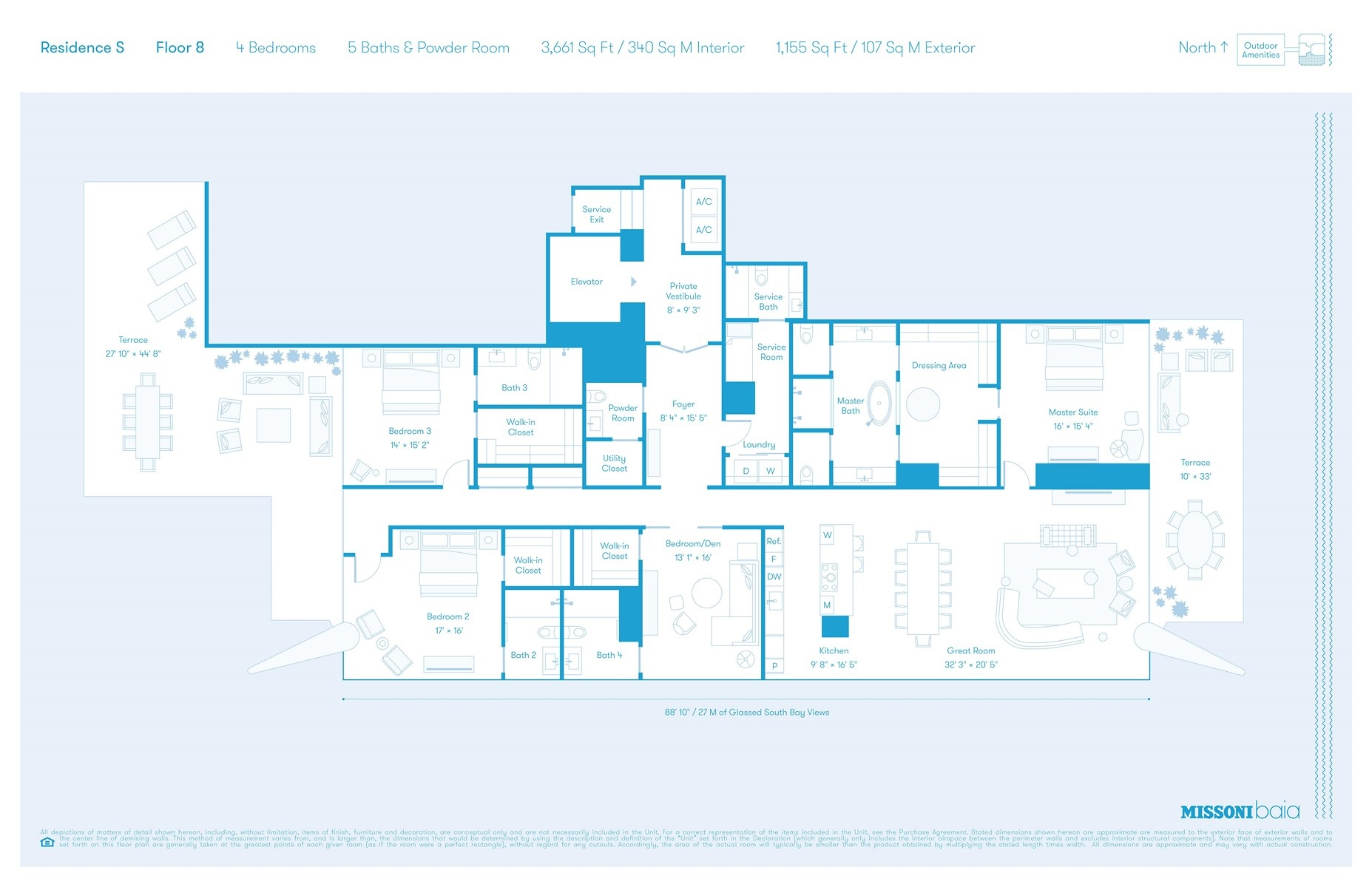 Missoni Baia - Floorplan 2