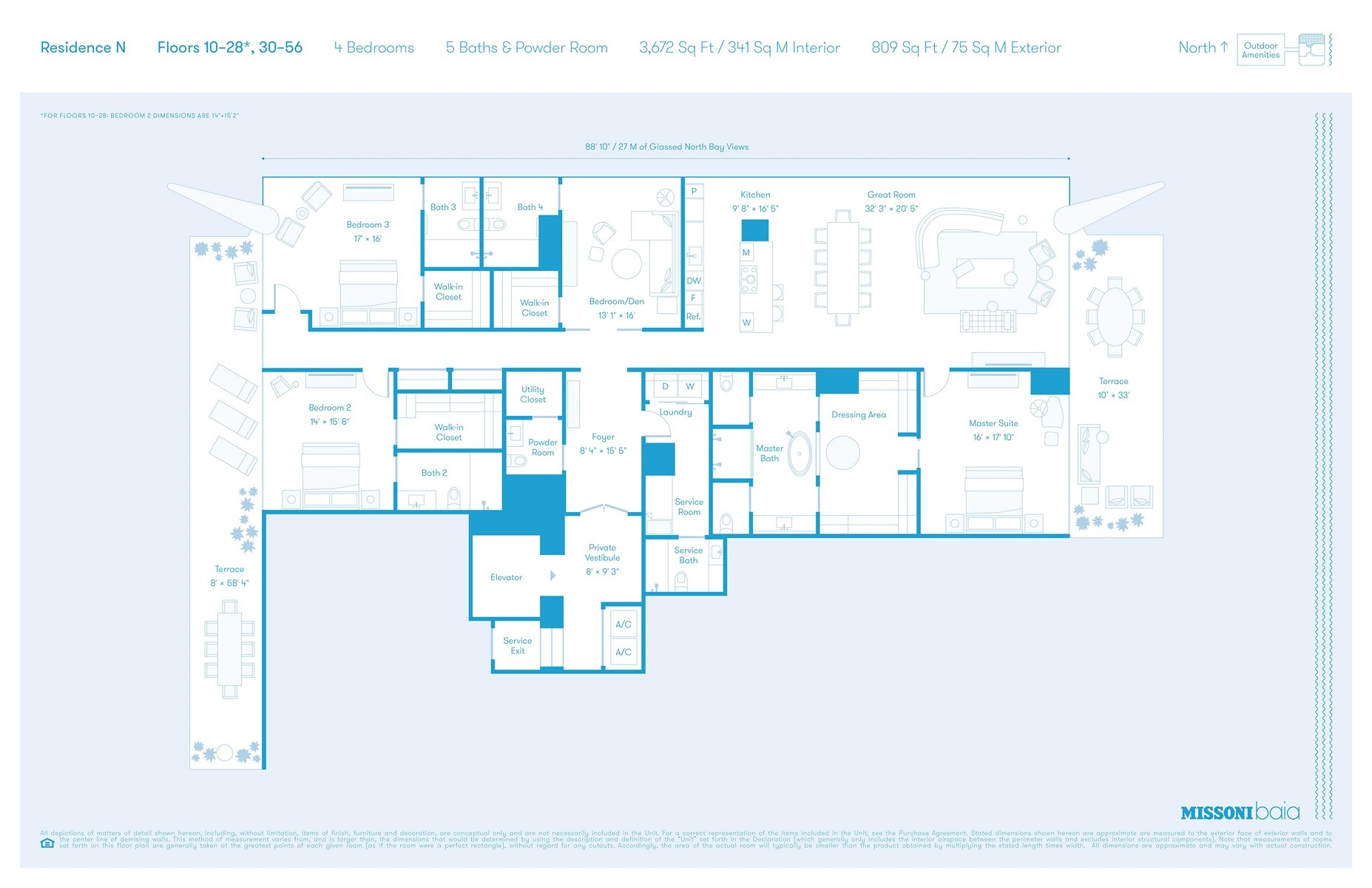 Missoni Baia - Floorplan 3