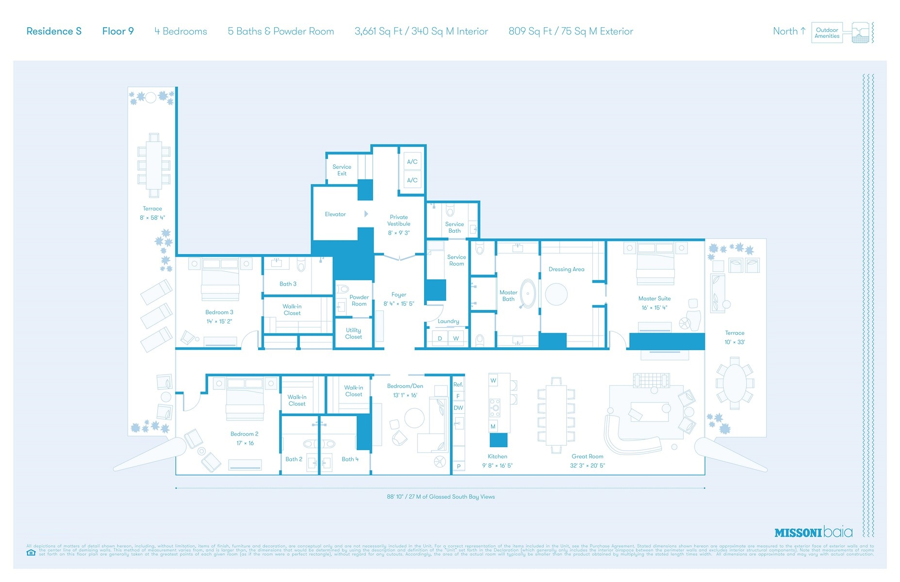Missoni Baia - Floorplan 4
