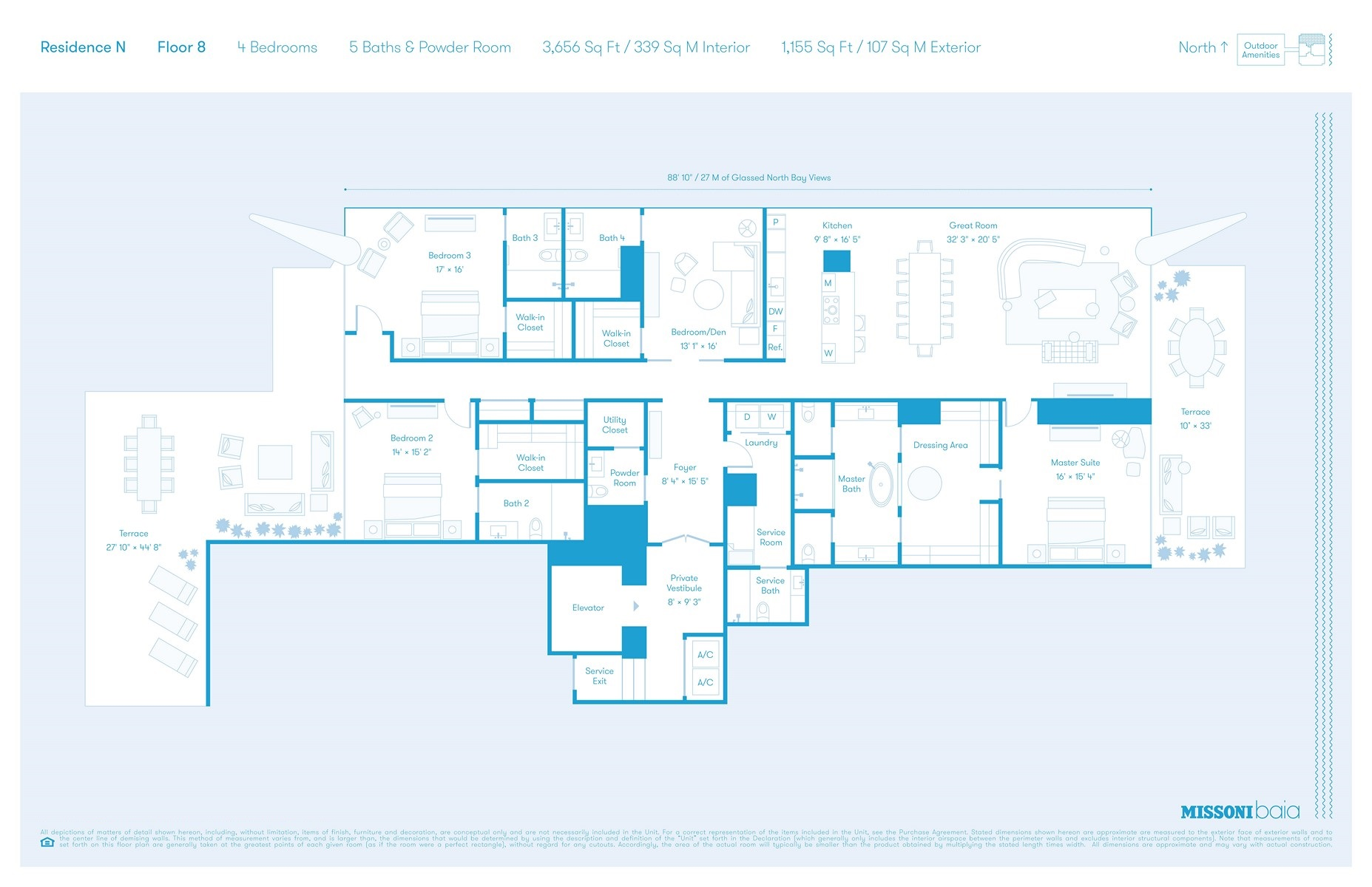 Missoni Baia - Floorplan 5