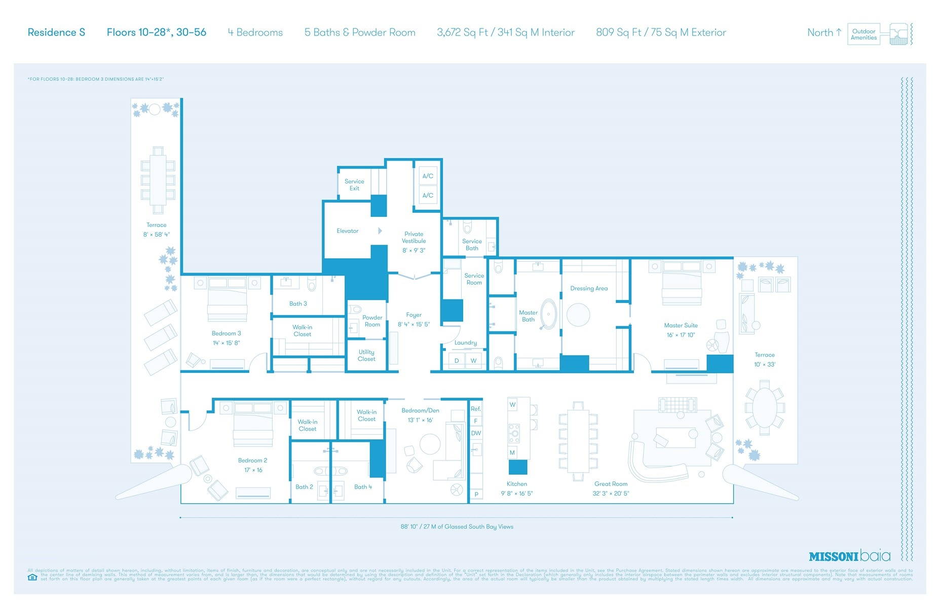 Missoni Baia - Floorplan 6