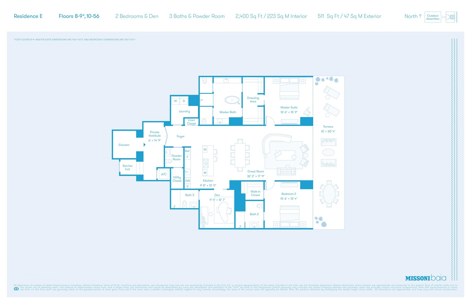 Missoni Baia - Floorplan 7
