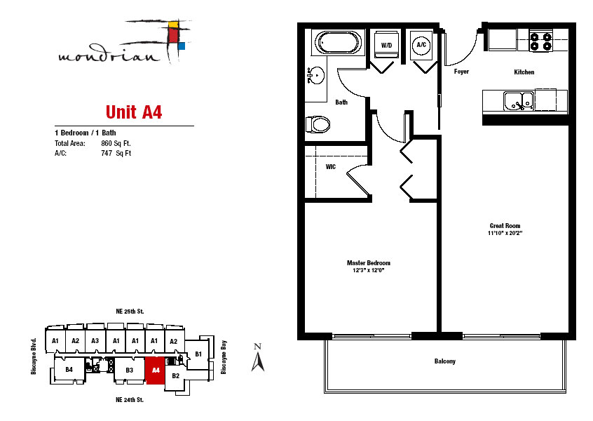Mondrian South Beach - Floorplan 2