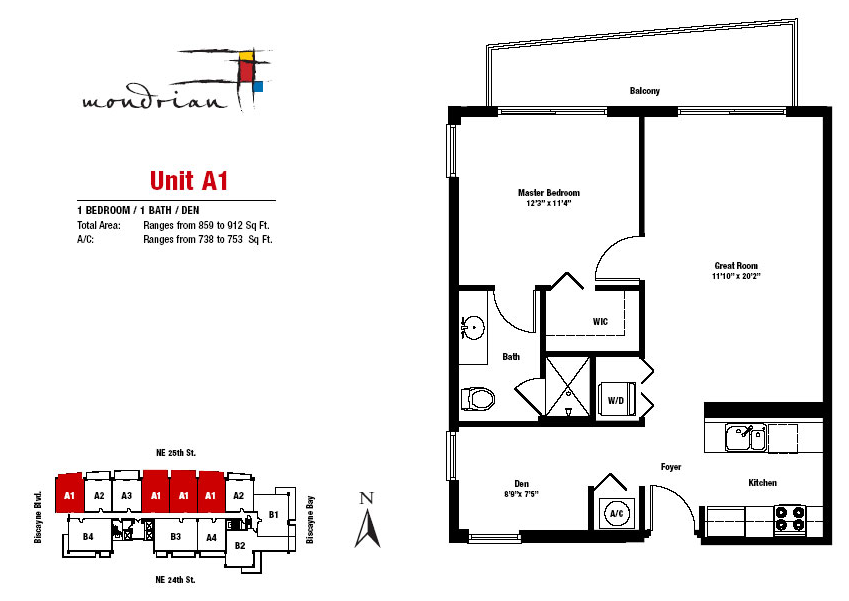 Mondrian South Beach - Floorplan 3