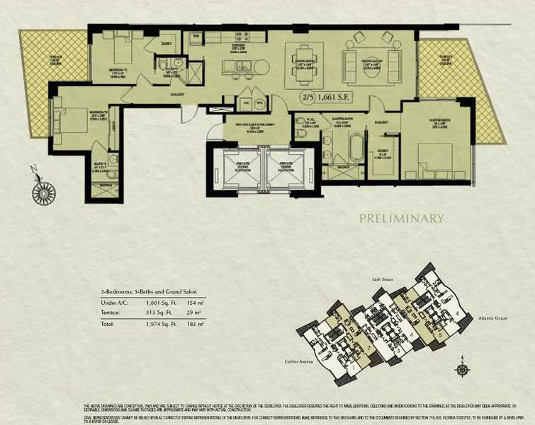 Mosaic - Floorplan 1