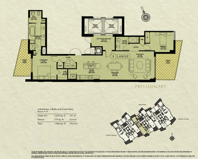 Mosaic - Floorplan 2