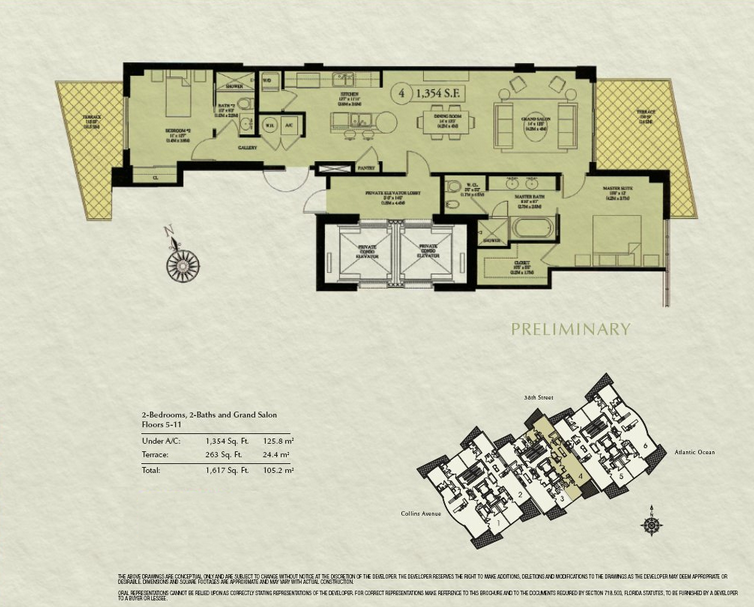 Mosaic - Floorplan 3
