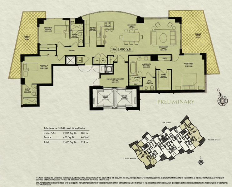 Mosaic - Floorplan 5
