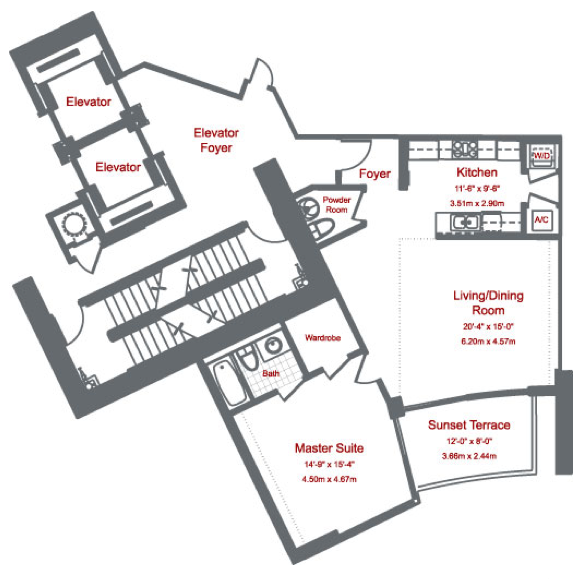 Murano At Portofino - Floorplan 4