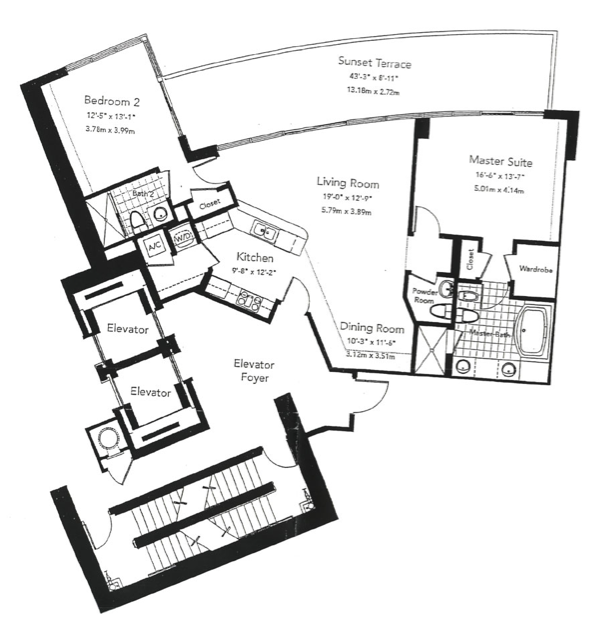 Murano At Portofino - Floorplan 6