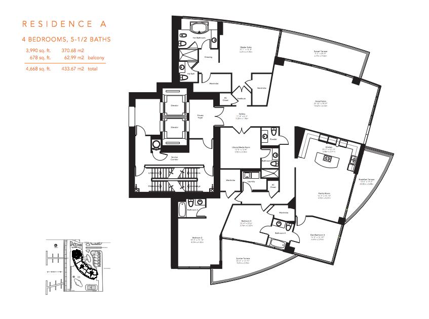 Murano Grande - Floorplan 1