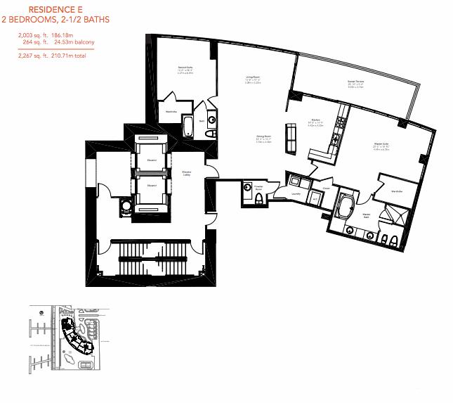 Murano Grande - Floorplan 2