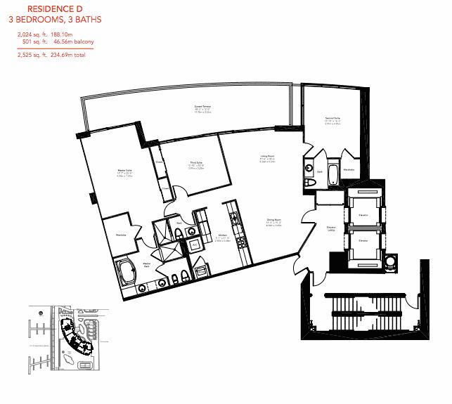 Murano Grande - Floorplan 3