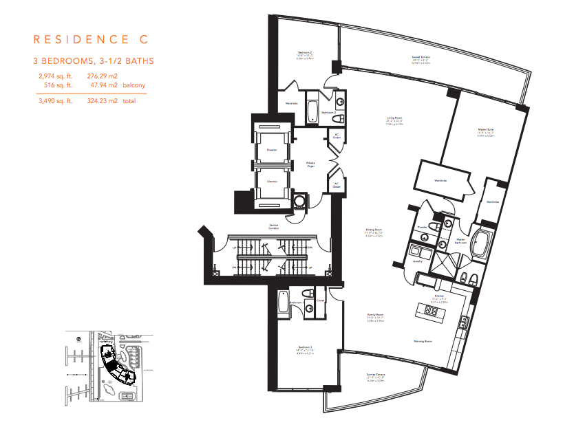 Murano Grande - Floorplan 4