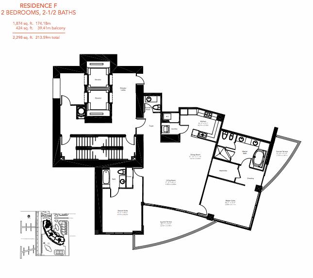 Murano Grande - Floorplan 5