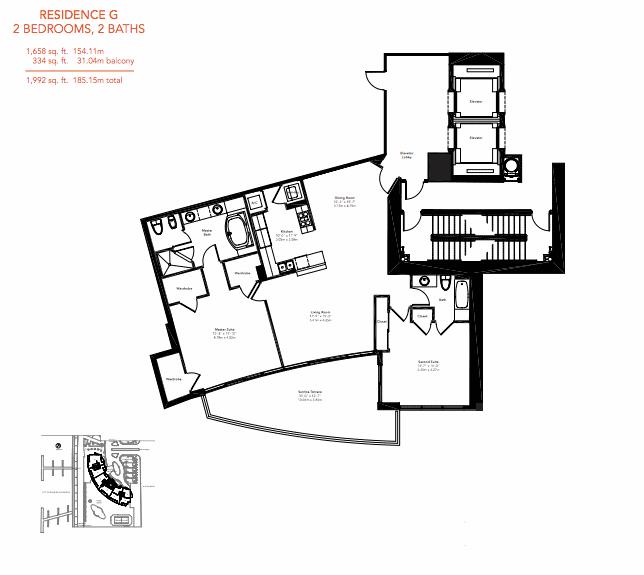 Murano Grande - Floorplan 6