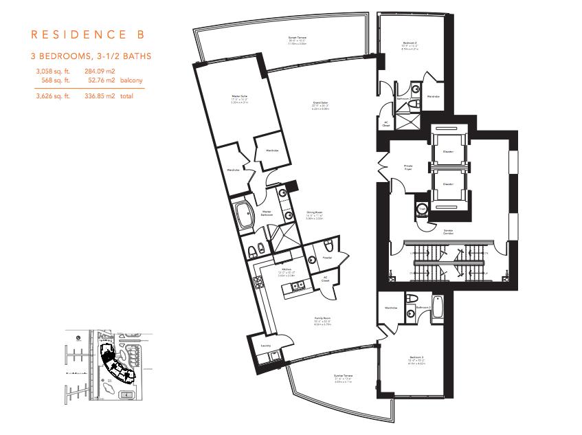 Murano Grande - Floorplan 7