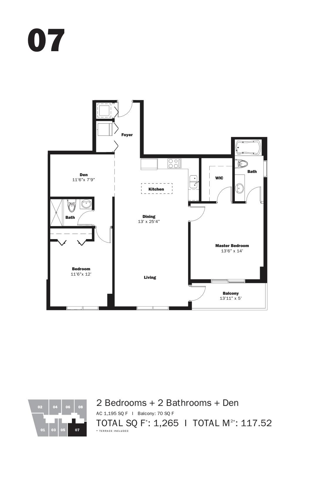 MyBrickell - Floorplan 2