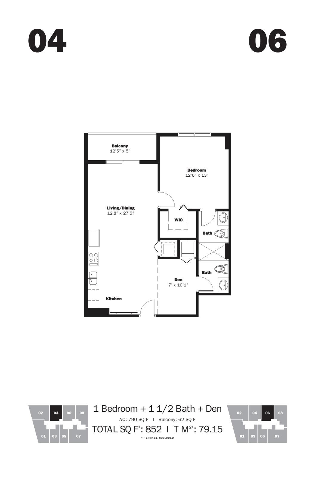 MyBrickell - Floorplan 3