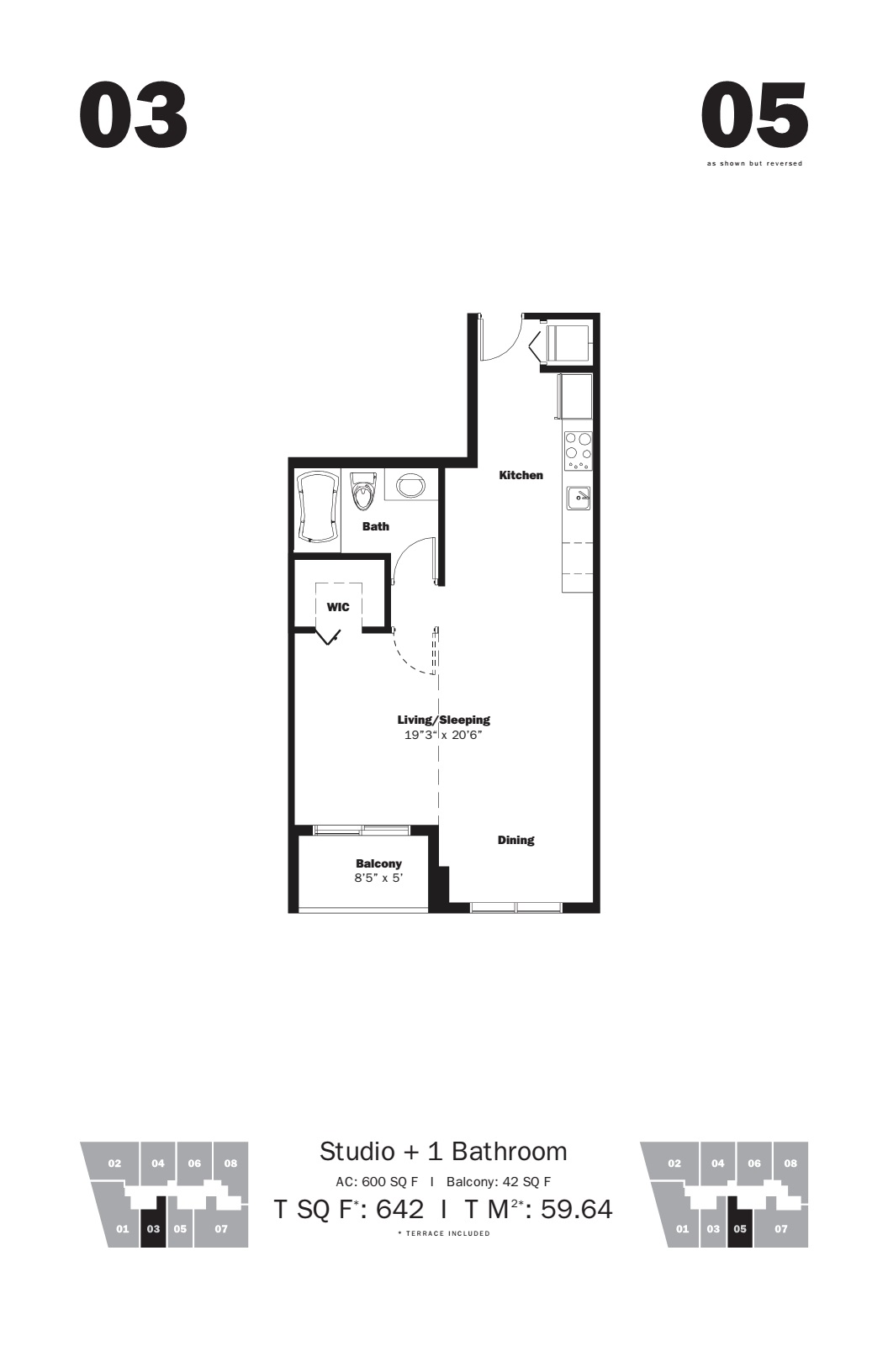 MyBrickell - Floorplan 4