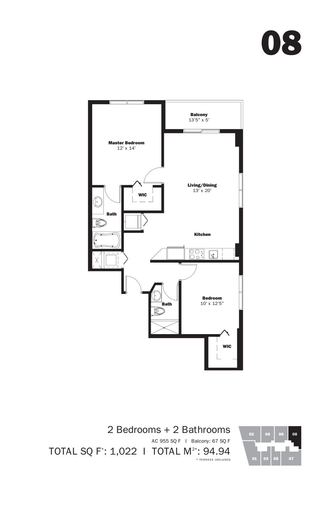 MyBrickell - Floorplan 5
