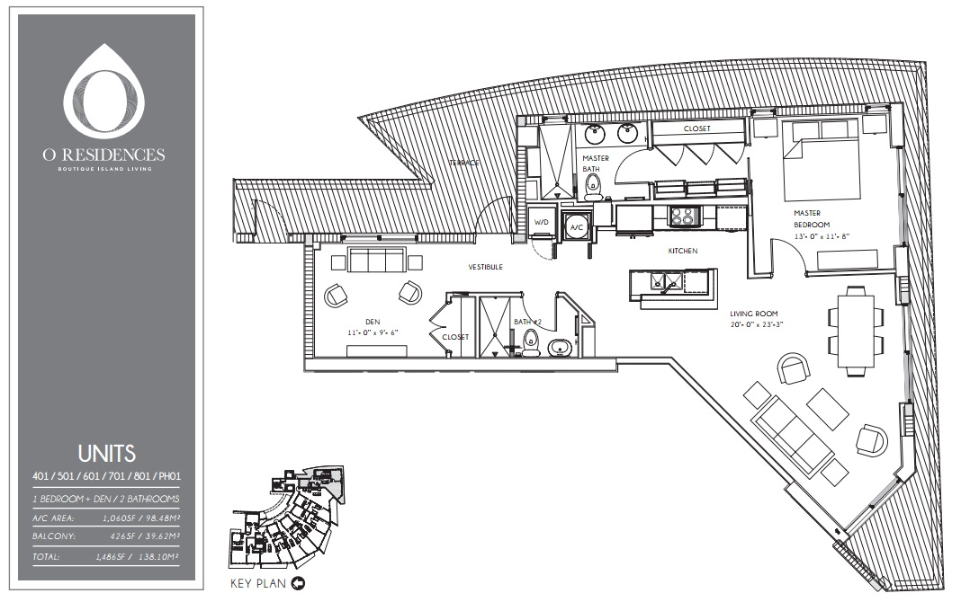 O Residences - Floorplan 2