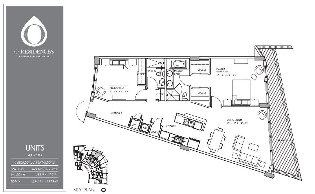 O Residences - Floorplan 3