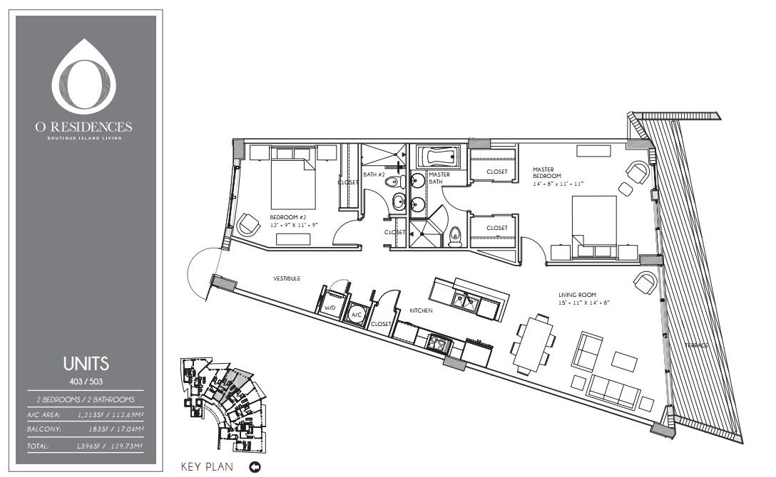 O Residences - Floorplan 3