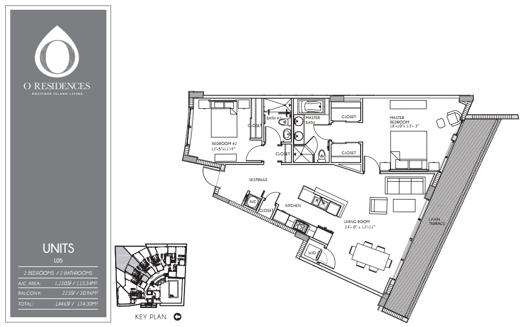 O Residences - Floorplan 5