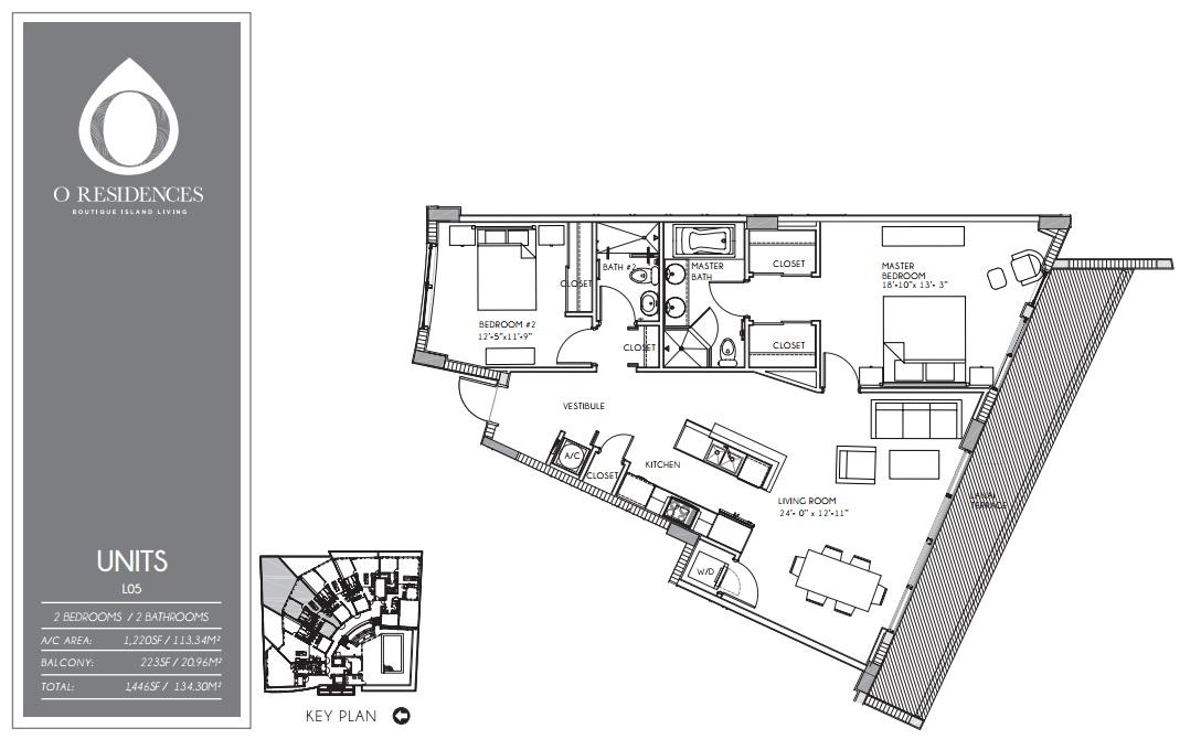 O Residences - Floorplan 5